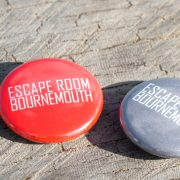 Escape Room Bournemouth Badges